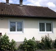 Maison d'habitation + maison annexe louée